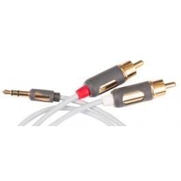 MP-CABLE MINI PLUG-2RCA